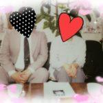 ご成婚。長野男性Sさん(41)と松本女性Aさん(36)