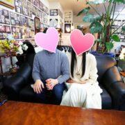 茅野市と富士見町の会員様ご成婚です。おめでとう!!