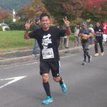10月27日、諏訪湖マラソンに参加した~?